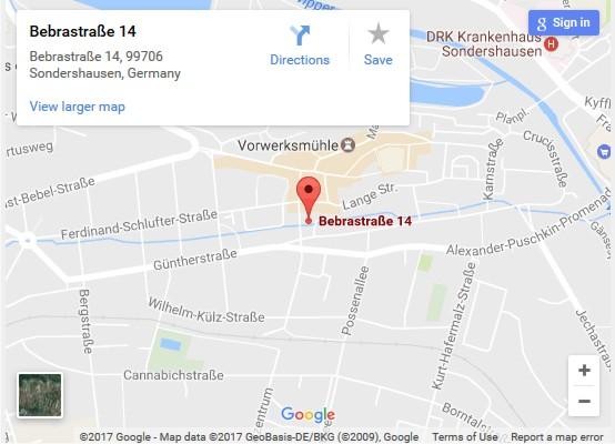 Besprechungsbüro Sondershausen